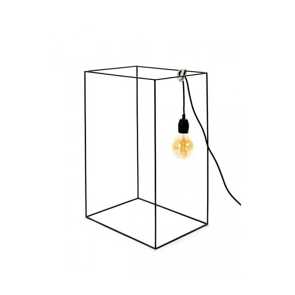 Serax tafellamp Carre, Zwart