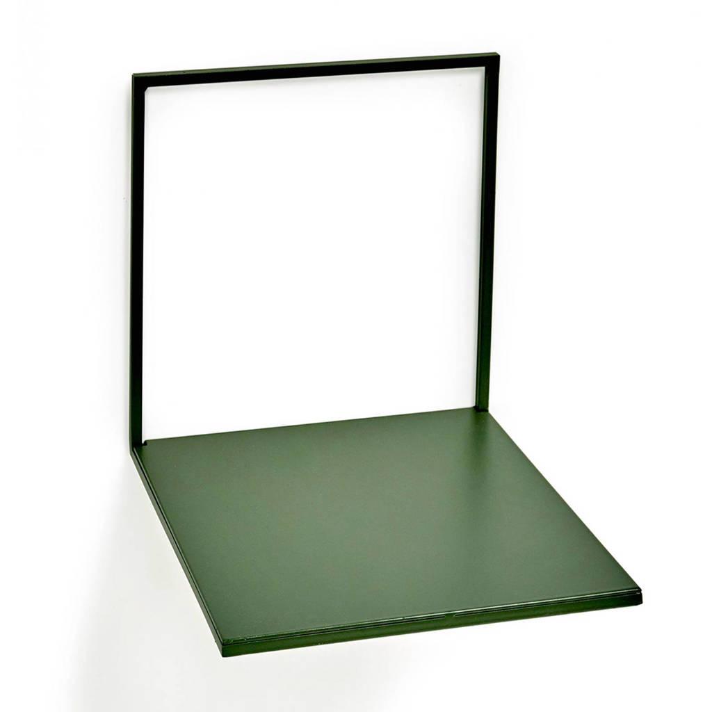 Serax wandplank (20x21,5 cm), Groen
