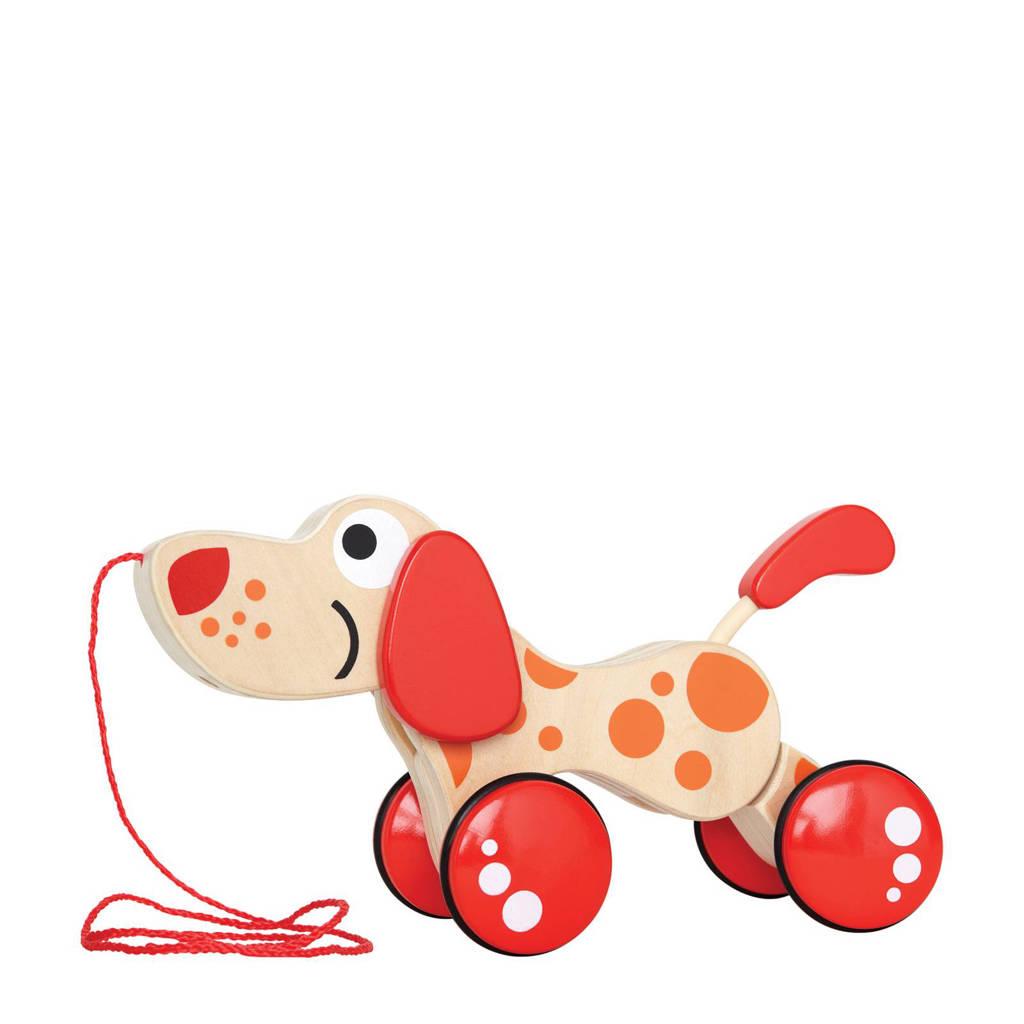 Hape houten trekfiguur puppy