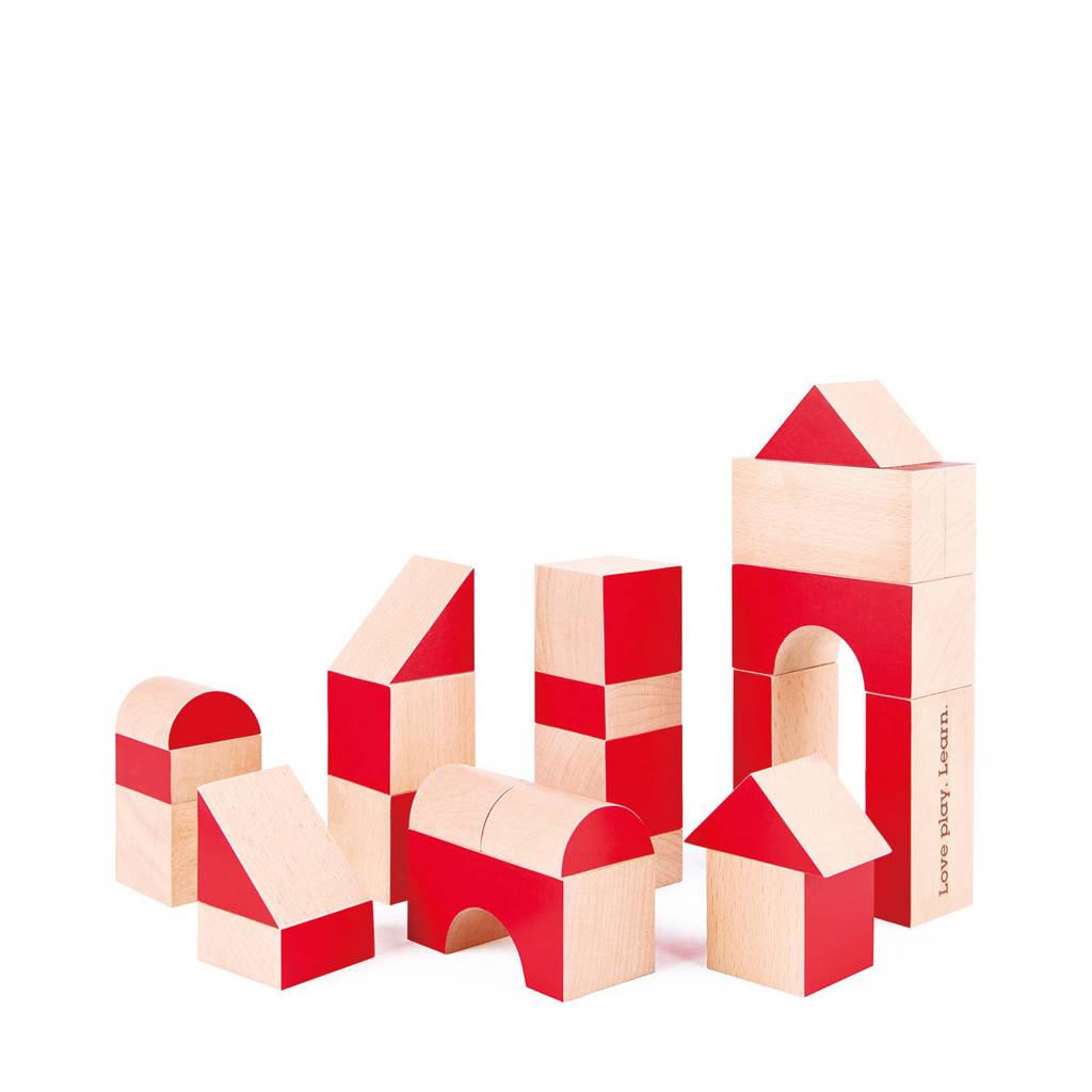 Hape houten stapelblokken 30 stuks