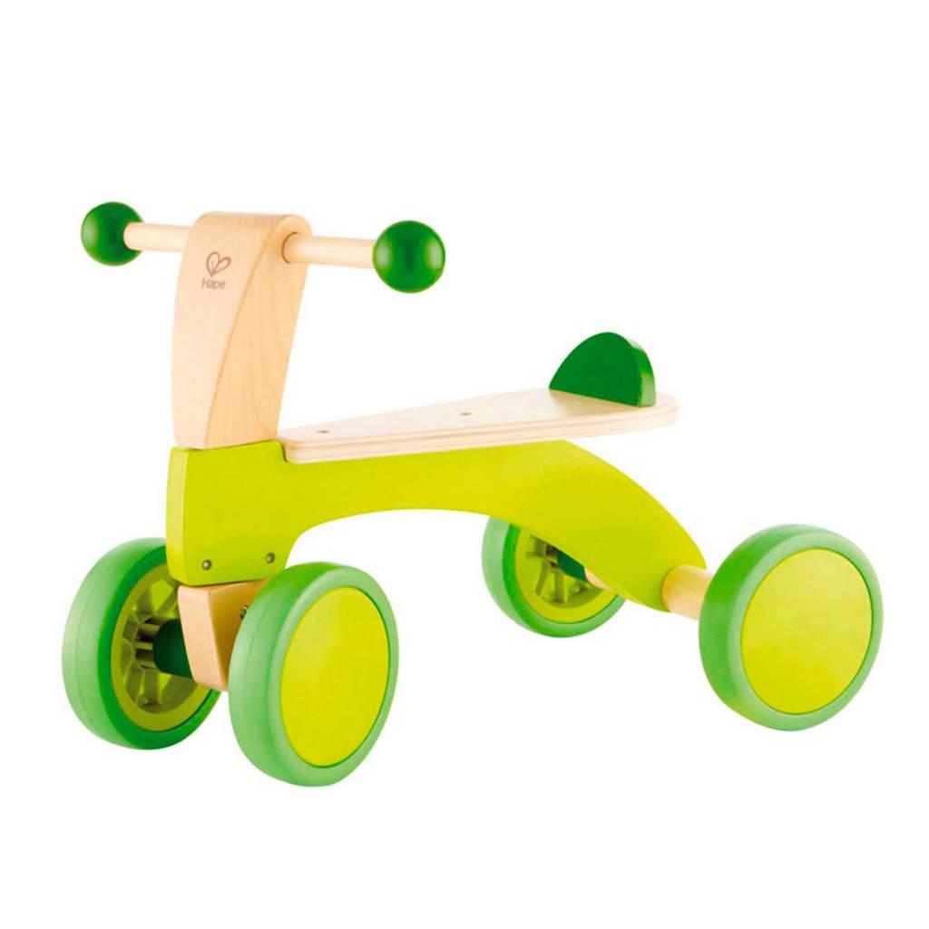 Hape houten loopfiets, Groen