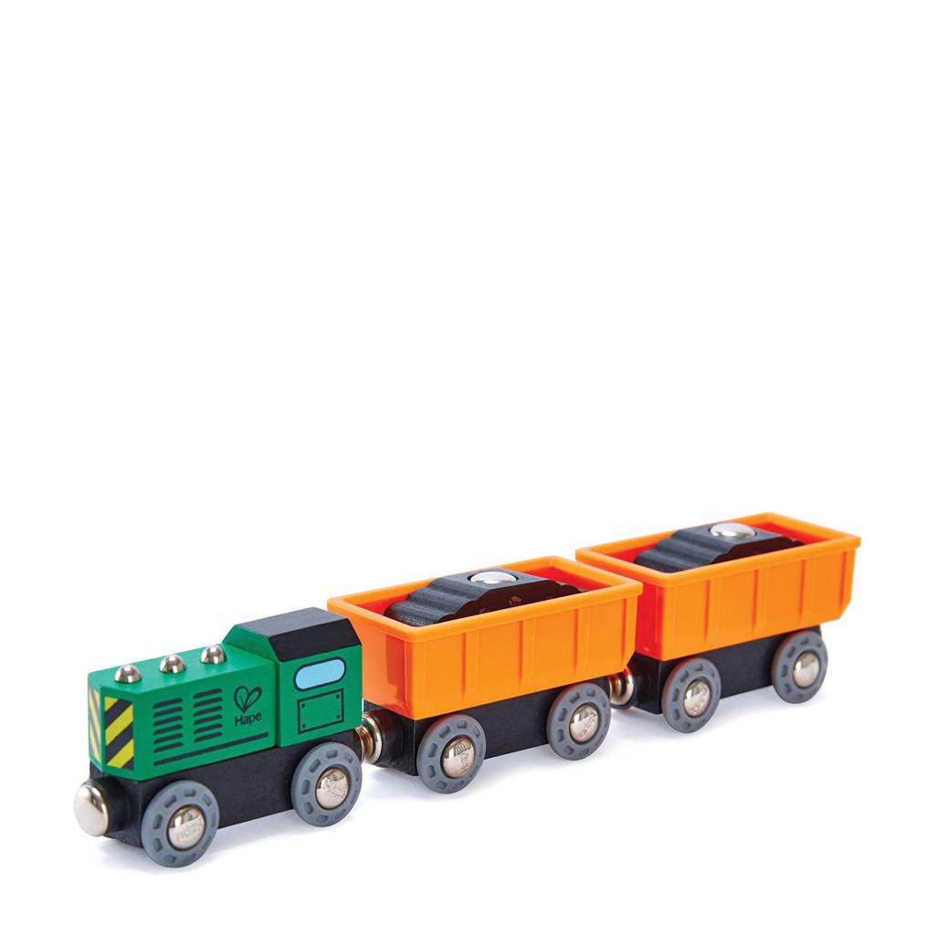 Hape houten dieselgoederentrein