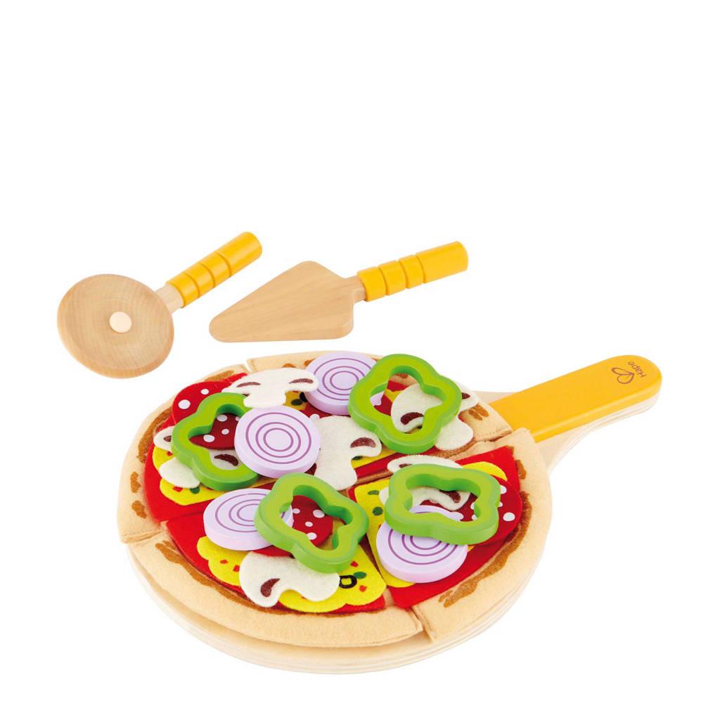 Hape houten pizza speelset