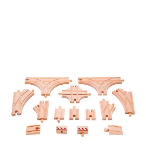 Hape houten rails uitbreidingsset kopen