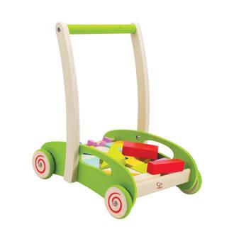 houten puzzel loopwagen