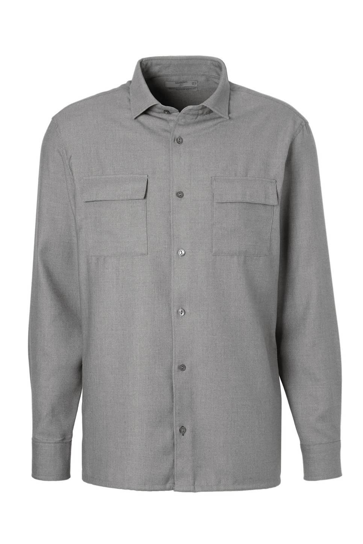 Grijs Overhemd Heren.Mango Man Regular Fit Overhemd Heren Wehkamp