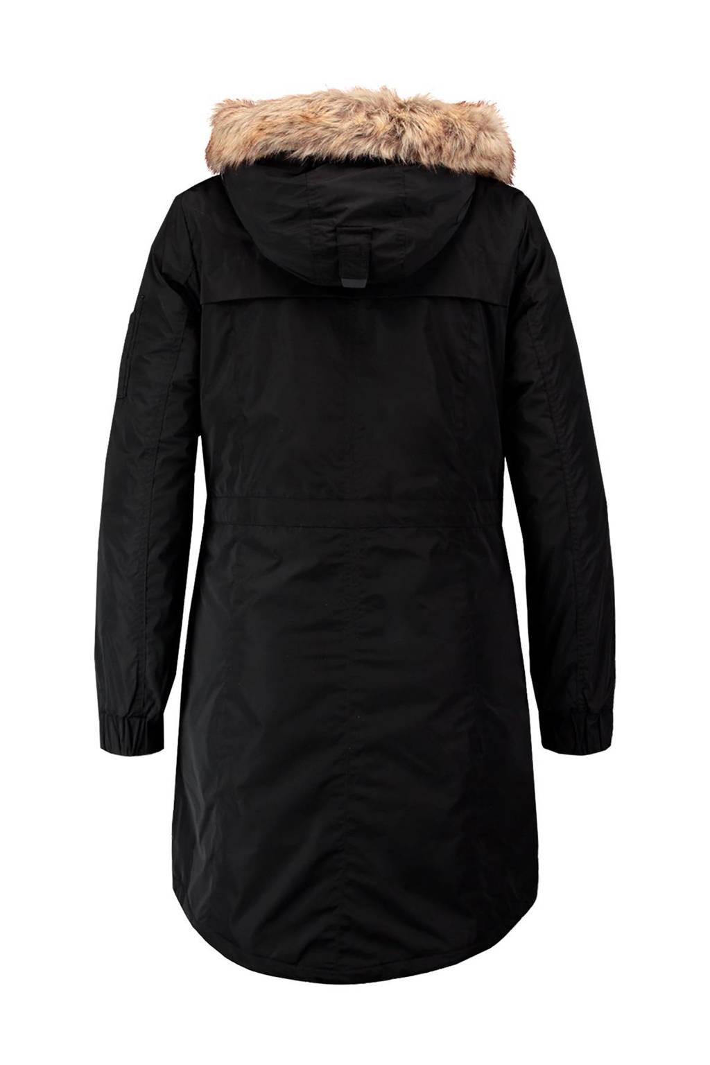 MS Mode parka, Zwart