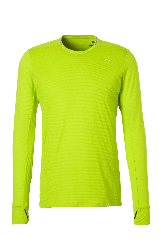 adidas performance   hardloop T-shirt, Geel