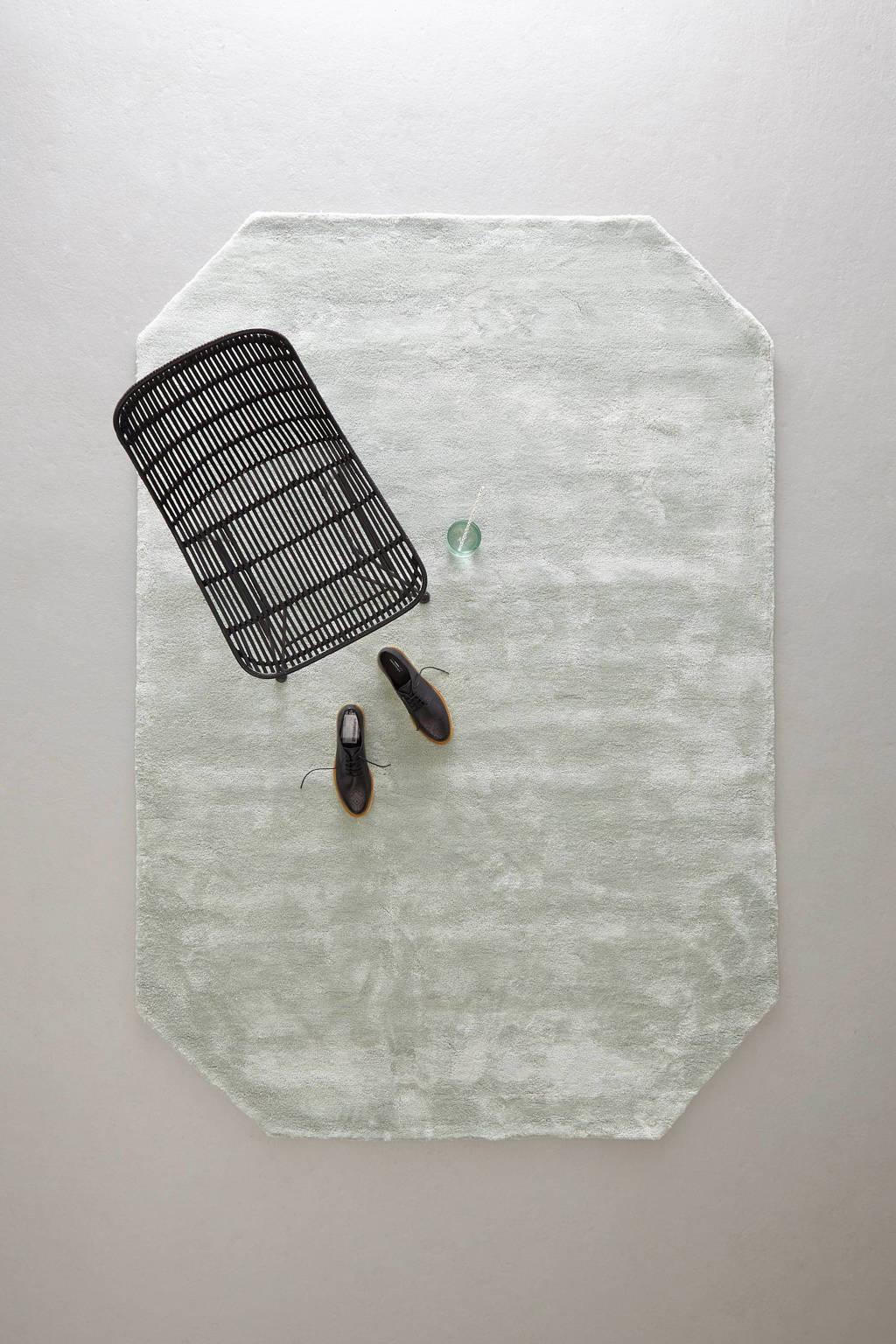 whkmp's own vloerkleed  (230x160 cm), IJsblauw