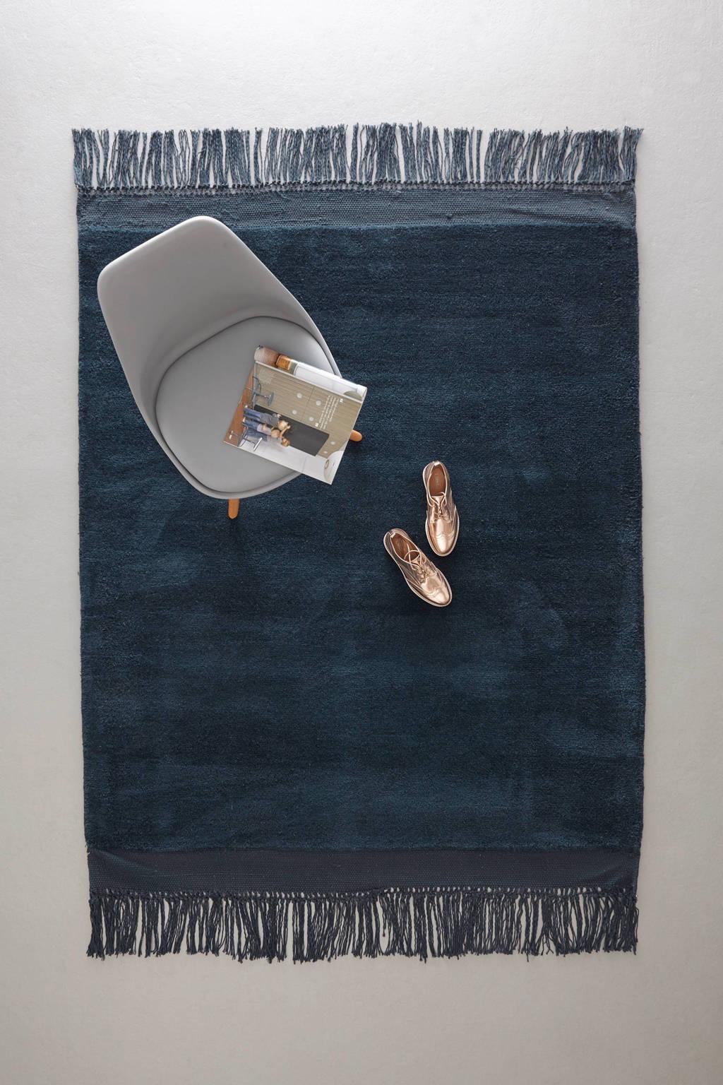 whkmp's own vloerkleed  (230x160 cm), Donkerblauw