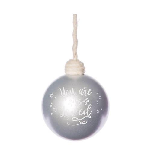 kerstbal Loved (Ø10 cm)