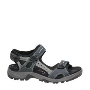 Offroad  leren outdoor sandalen antraciet