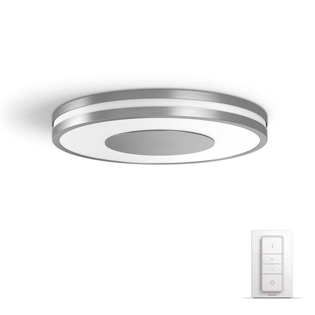 Philips Hue plafondlamp Being, Grijs/wit