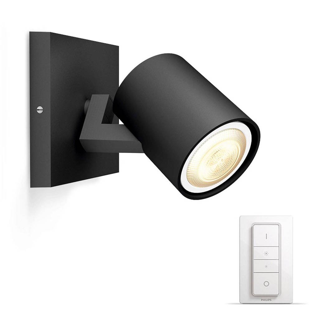 Philips Hue wandlamp Runner (incl dimmer), Zwart