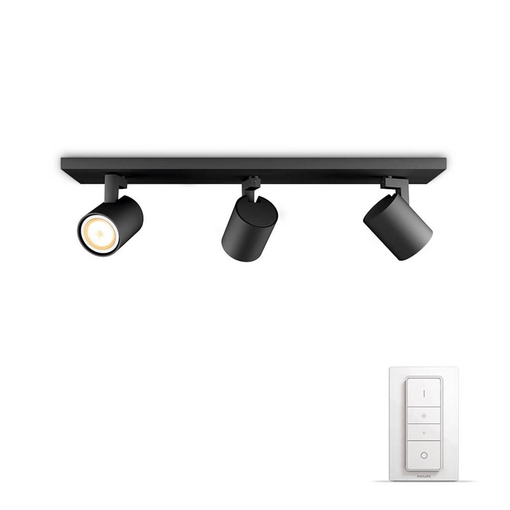 Philips Hue plafondlamp Runner, Zwart