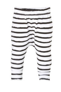 Your Wishes newborn baby broek, Wit/zwart