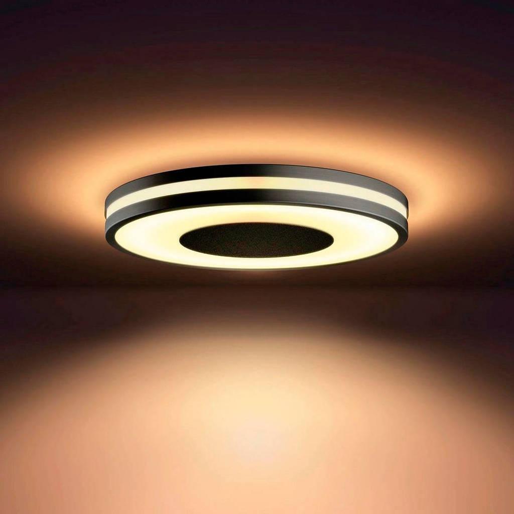 Philips Hue plafondlamp Being, Zwart/wit