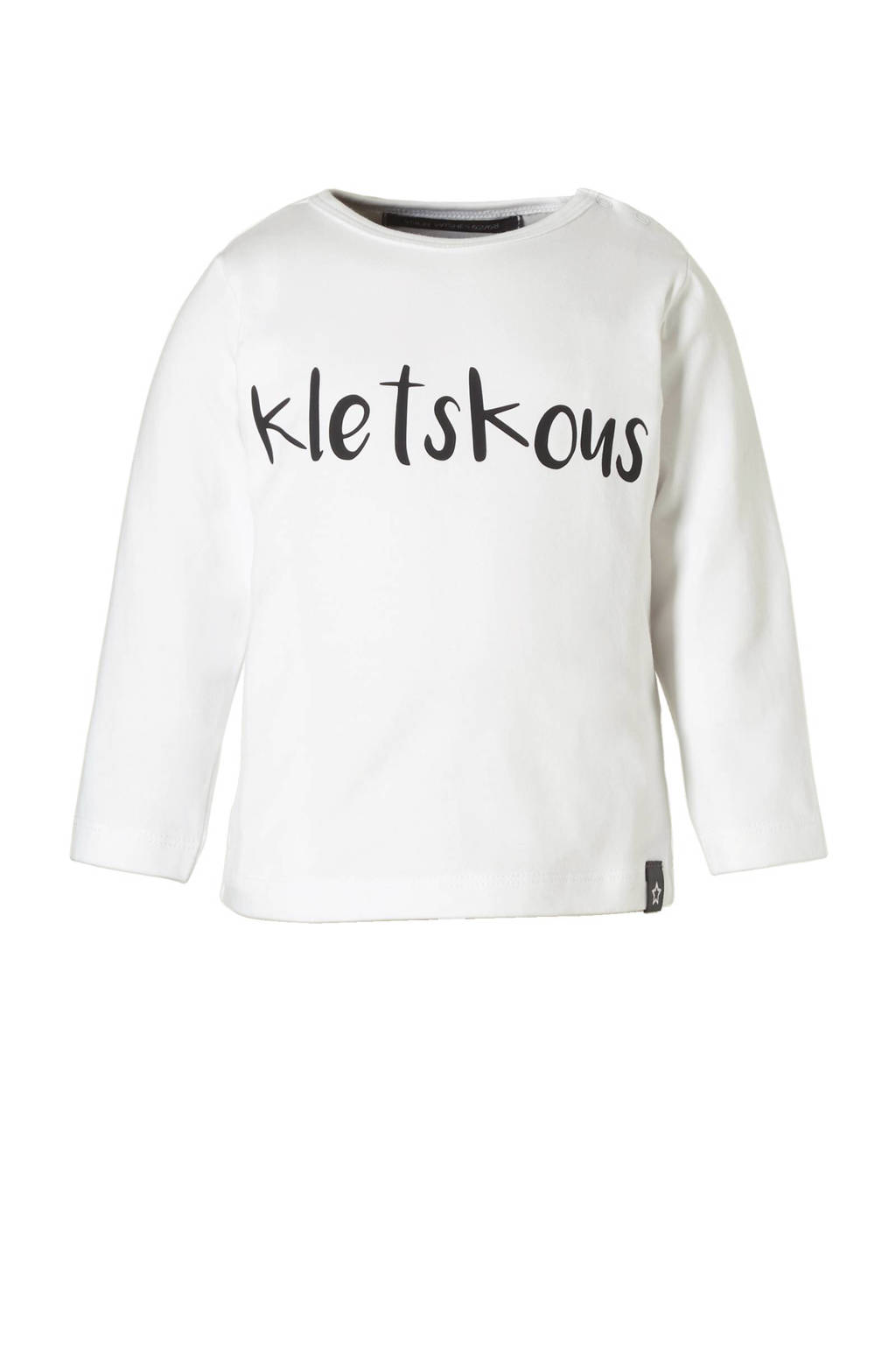 Your Wishes newborn baby longsleeve, Wit