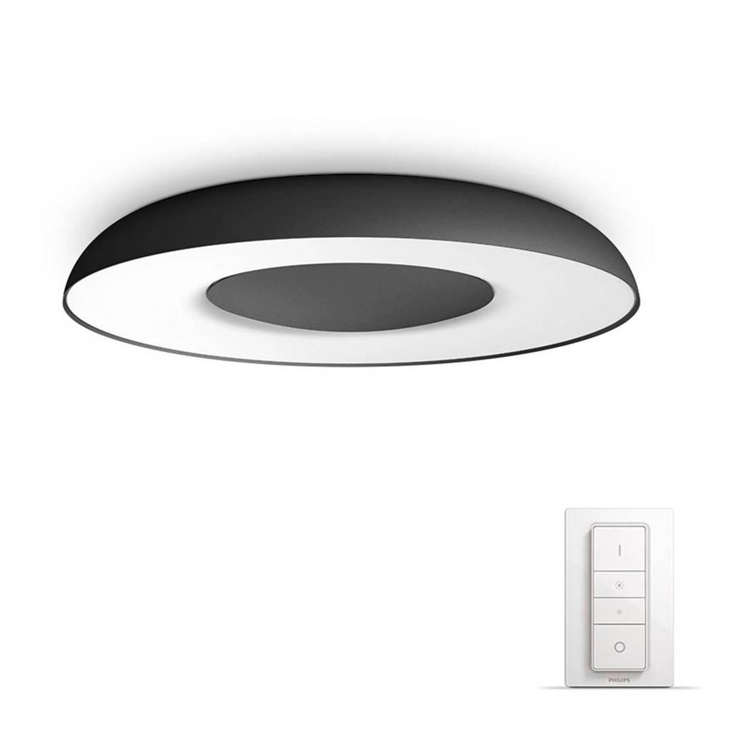 Philips Hue plafondlamp Still, Zwart