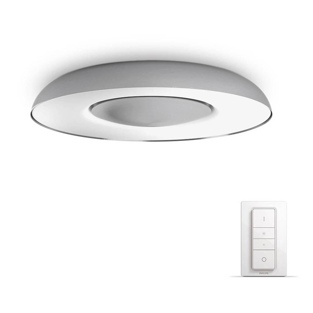 Philips Hue plafondlamp Still, Aluminium