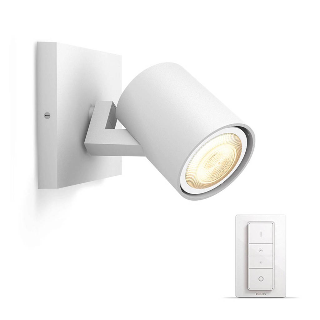 Philips Hue wandlamp Runner (incl dimmer), Wit