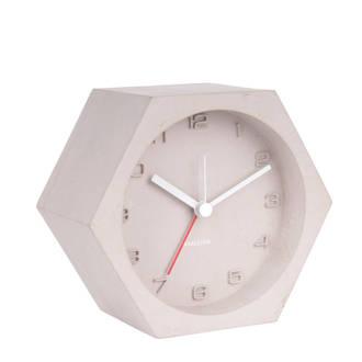 Klokken alarmklok Hexagon (11,5 cm)