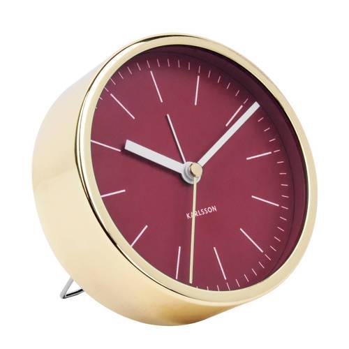 Karlsson Klokken alarmklok Minimal (Ø10 cm) kopen