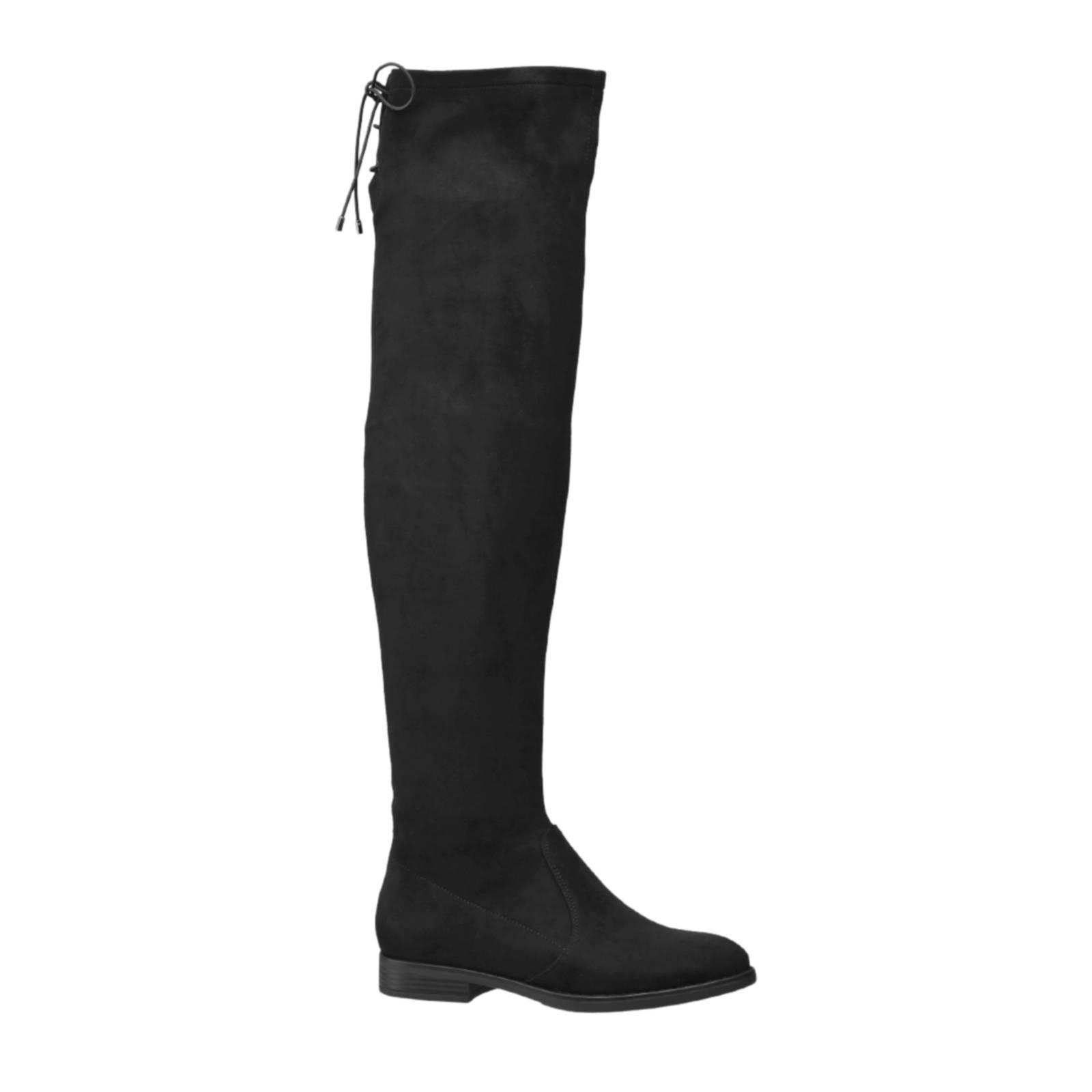 vanHaren Graceland overknee laarzen | wehkamp