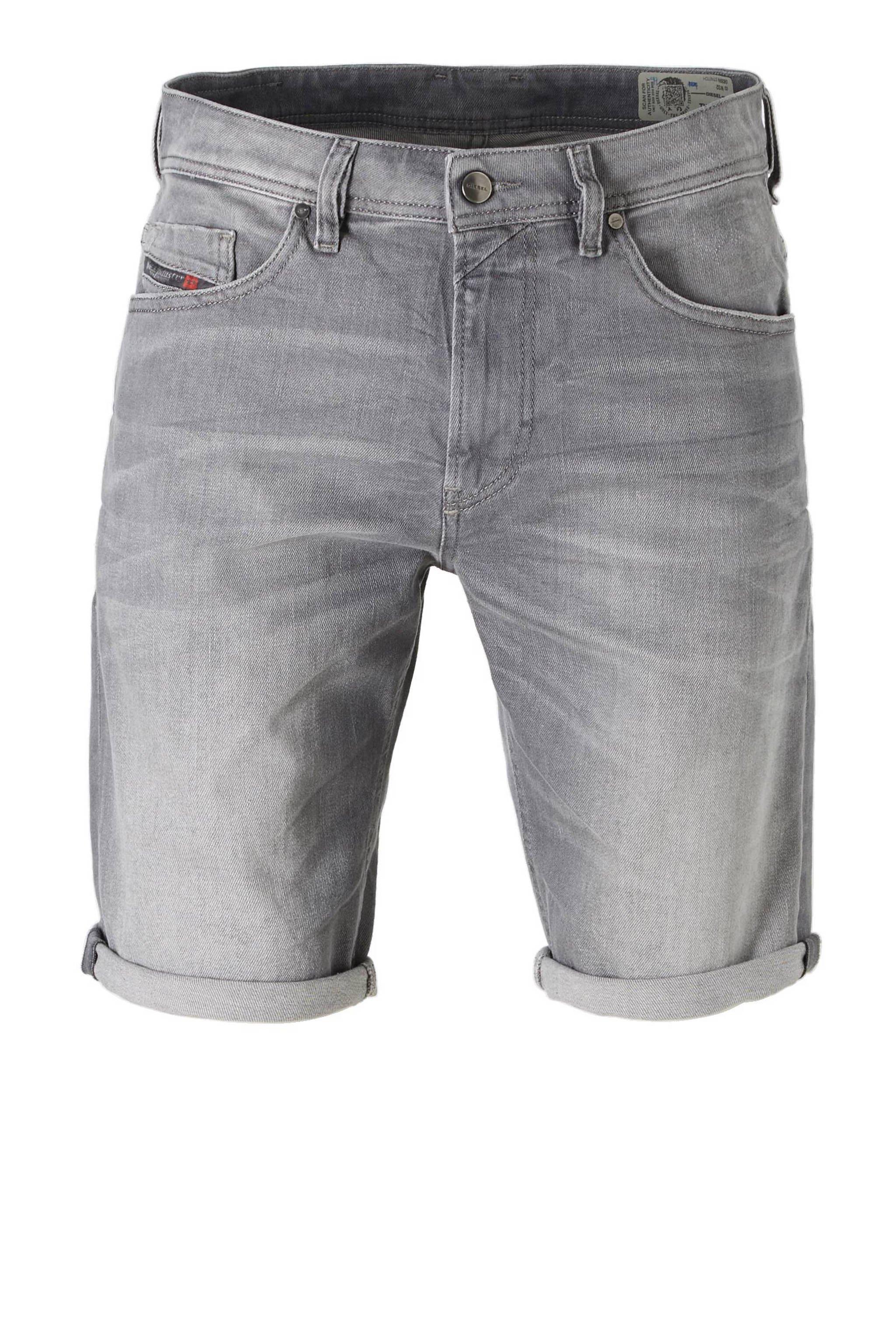 Korte Broek Heren Diesel.Diesel Slim Fit Jeans Short Tho Wehkamp