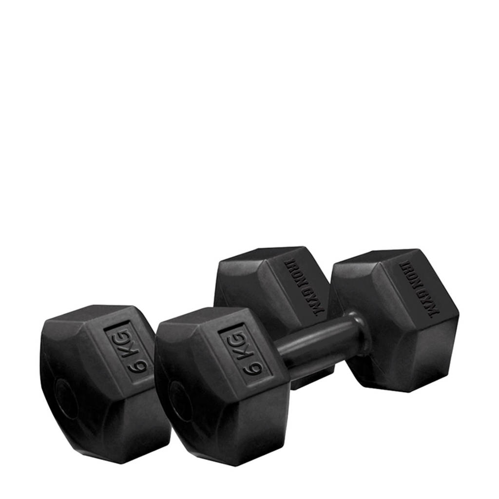Iron Gym 2 x 6 kg dumbbells