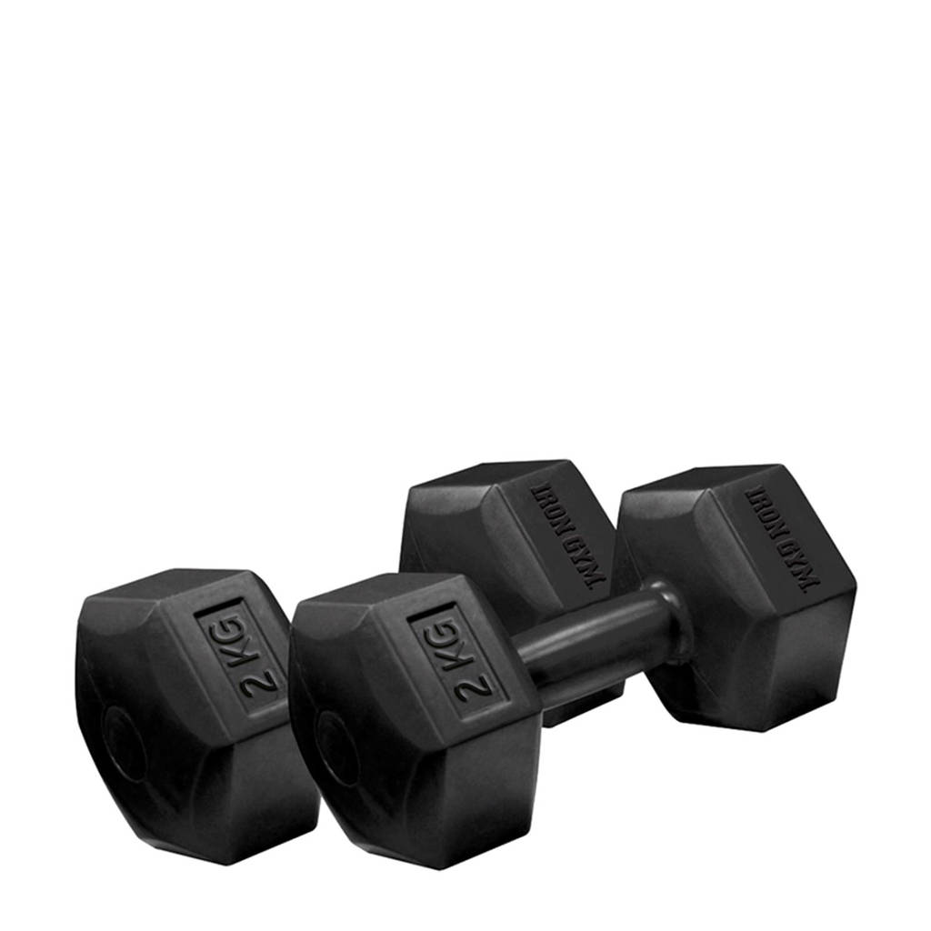 Iron Gym 2 x 2 kg dumbbells