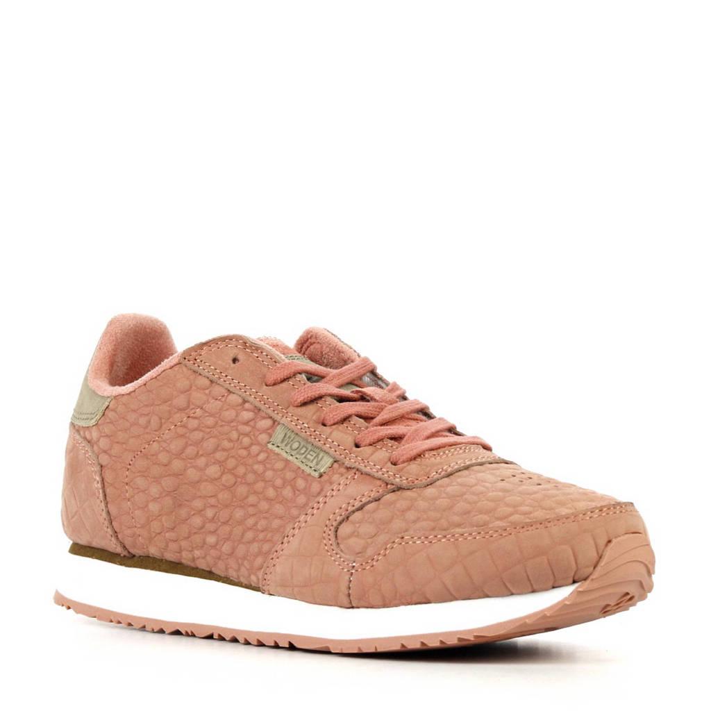 Woden   Ydun sneakers, Oudroze/beige