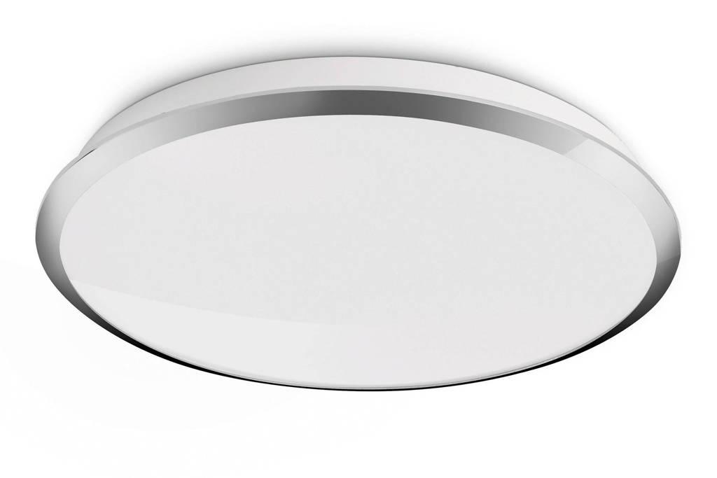 Philips myLiving Denim plafondlamp, Ø35cm, Chroom