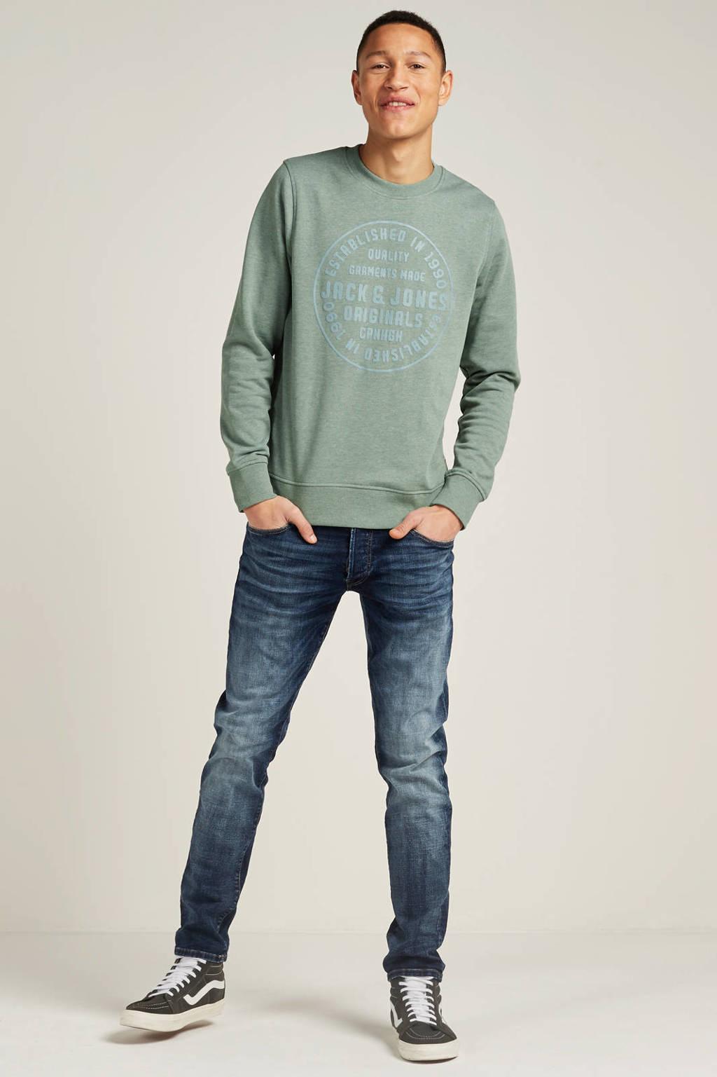 Jack & Jones Jeans Intelligence slim fit jeans Glenn, Blue denim