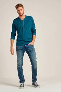 JACK & JONES JEANS INTELLIGENCE slim fit jeans Glenn blue denim, Blue denim