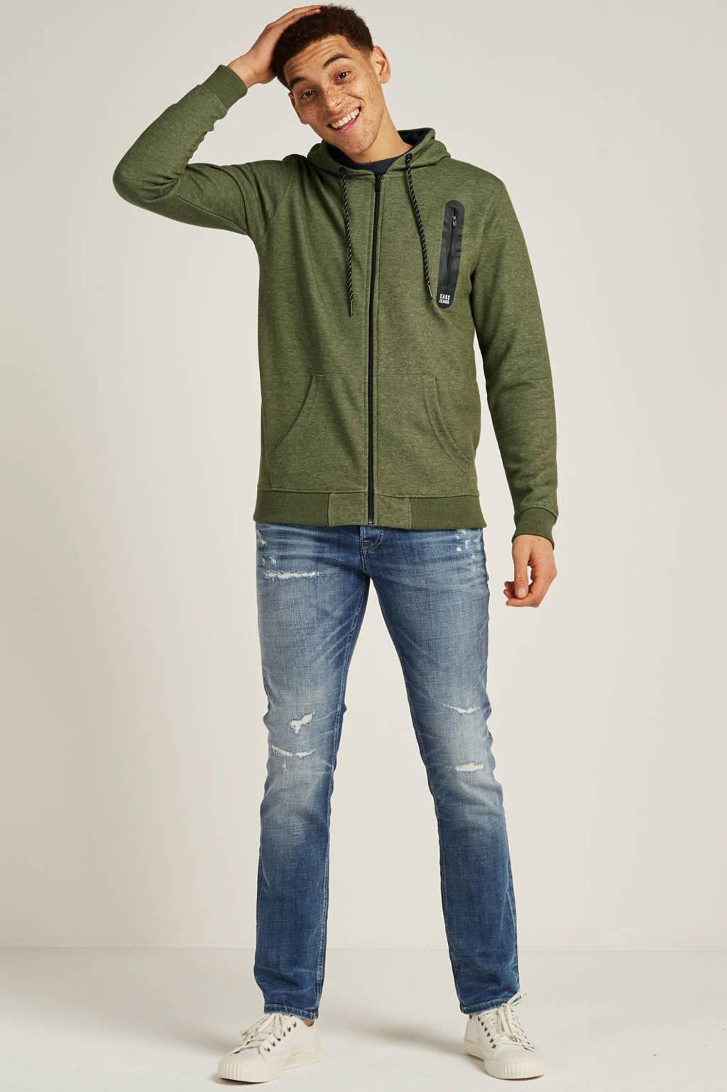 Jack & Jones Intelligence  slim Tim slim fit jeans, Blue denim