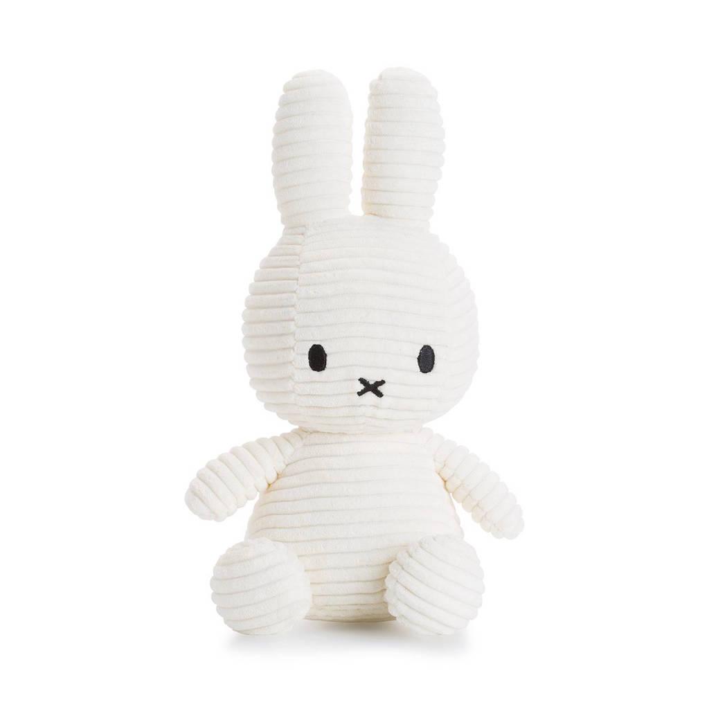 nijntje Miffy Corduroy knuffel 24 cm, Wit