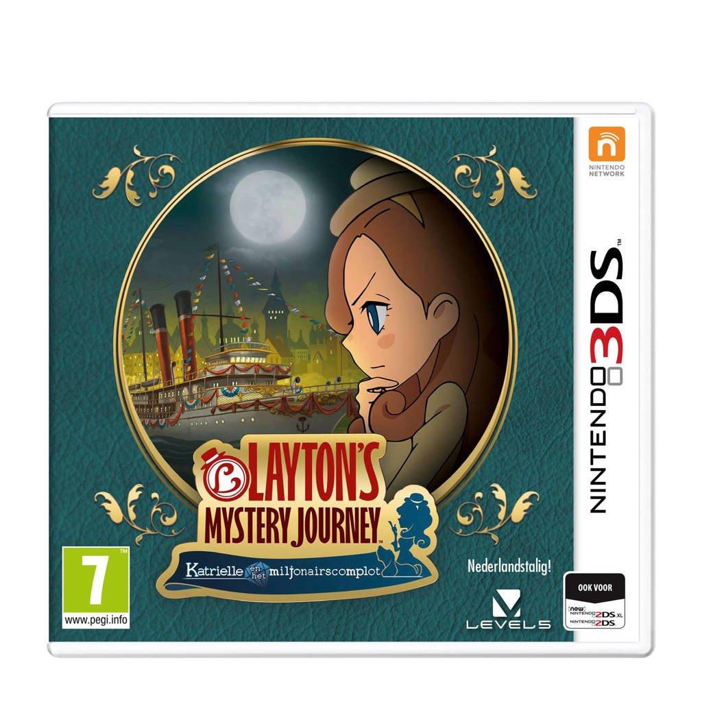 Layton Mystery Journey (Nintendo 3DS)