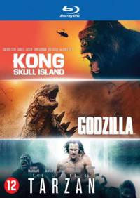 Godzilla/Kong/Tarzan (Blu-ray)