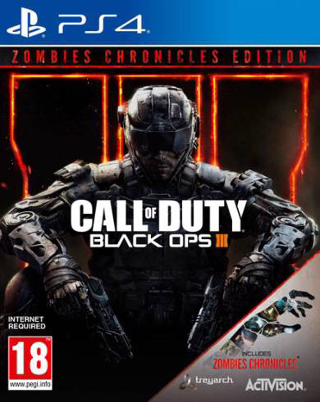 Call of duty – Black ops 3  (Zombie Chronicles) (PlayStation 4)