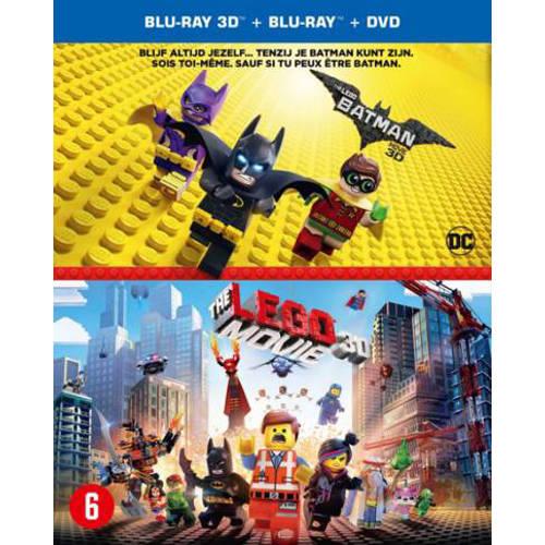 Lego Batman movie + Lego movie (3D) (Blu-ray) kopen