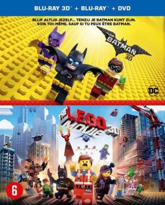 Lego Batman movie + Lego movie (3D) (Blu-ray)
