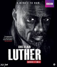 Luther - Seizoen 1-4 (Blu-ray)