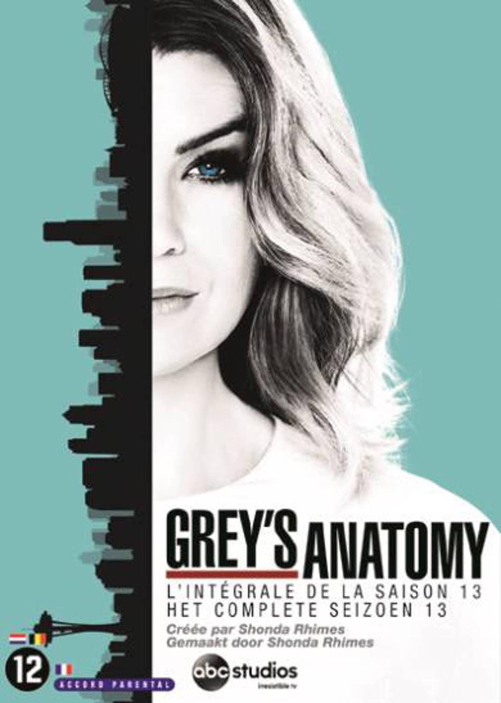 Grey's anatomy - Seizoen 13 (DVD)