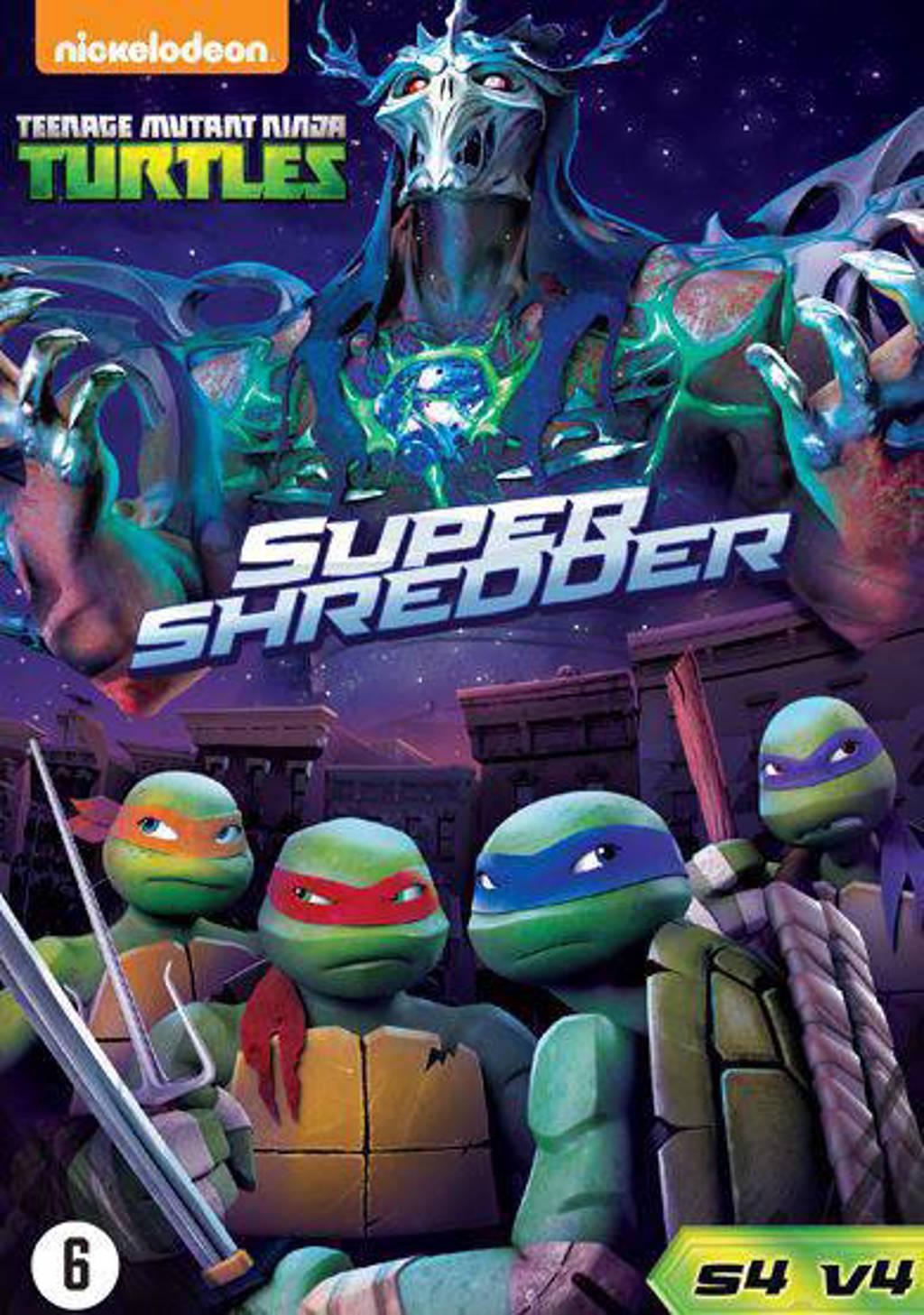 Teenage Mutant Ninja Turtles Super Shredder Dvd Wehkamp