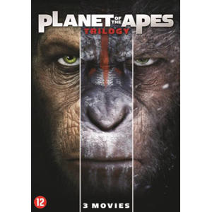 Planet of the apes 1-3  (DVD)
