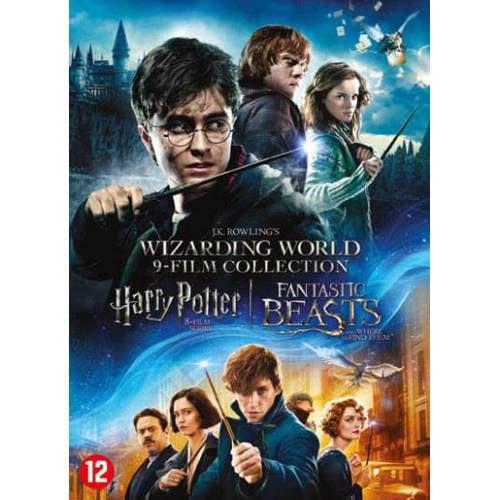 Harry Potter 1-8 + Fantastic beasts 1 (DVD) kopen