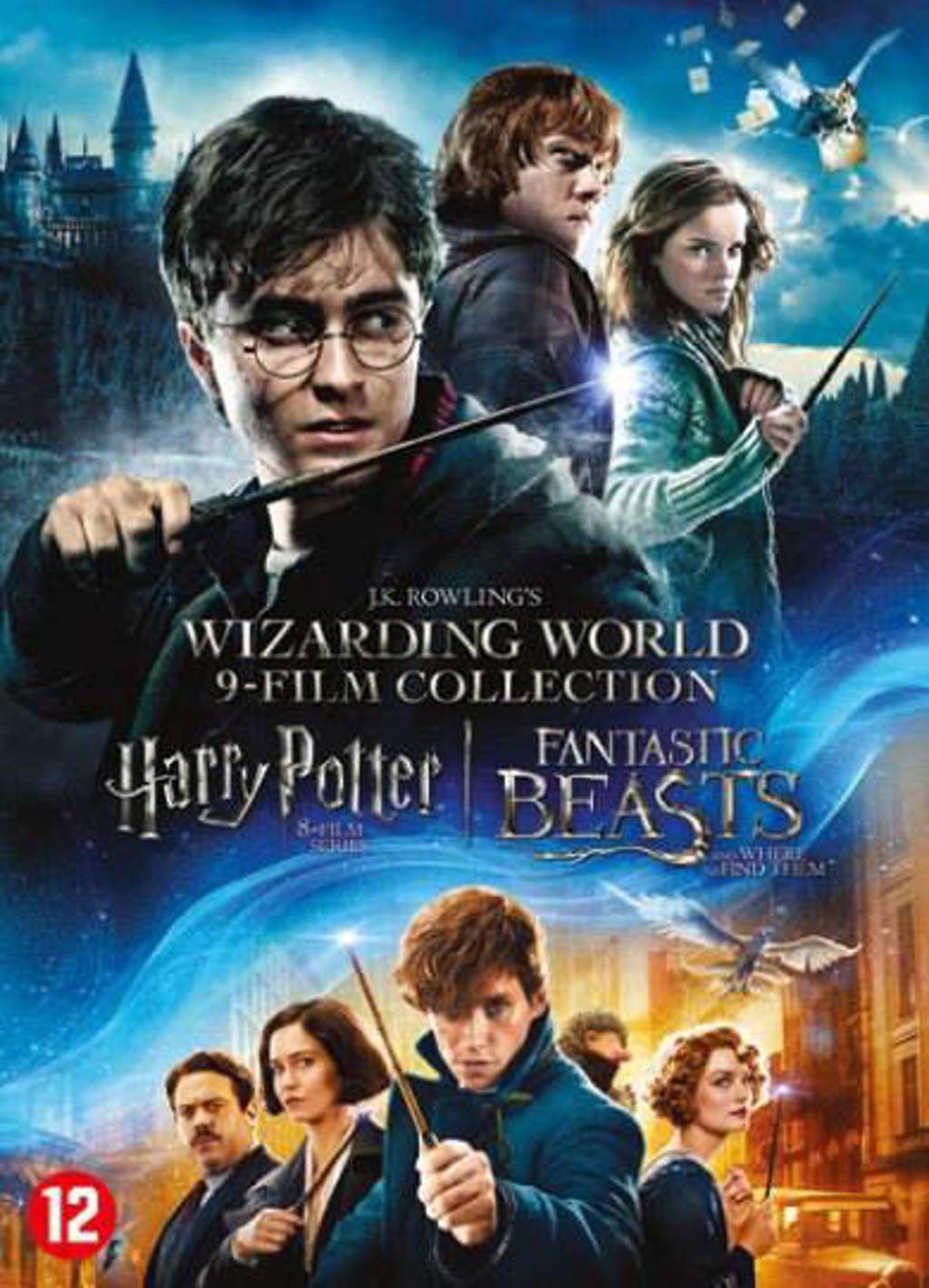 Harry Potter 1-8 + Fantastic beasts 1 (DVD)