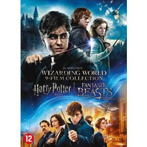 HarryPotter 1-8 + Fantastic beasts 1 (DVD)