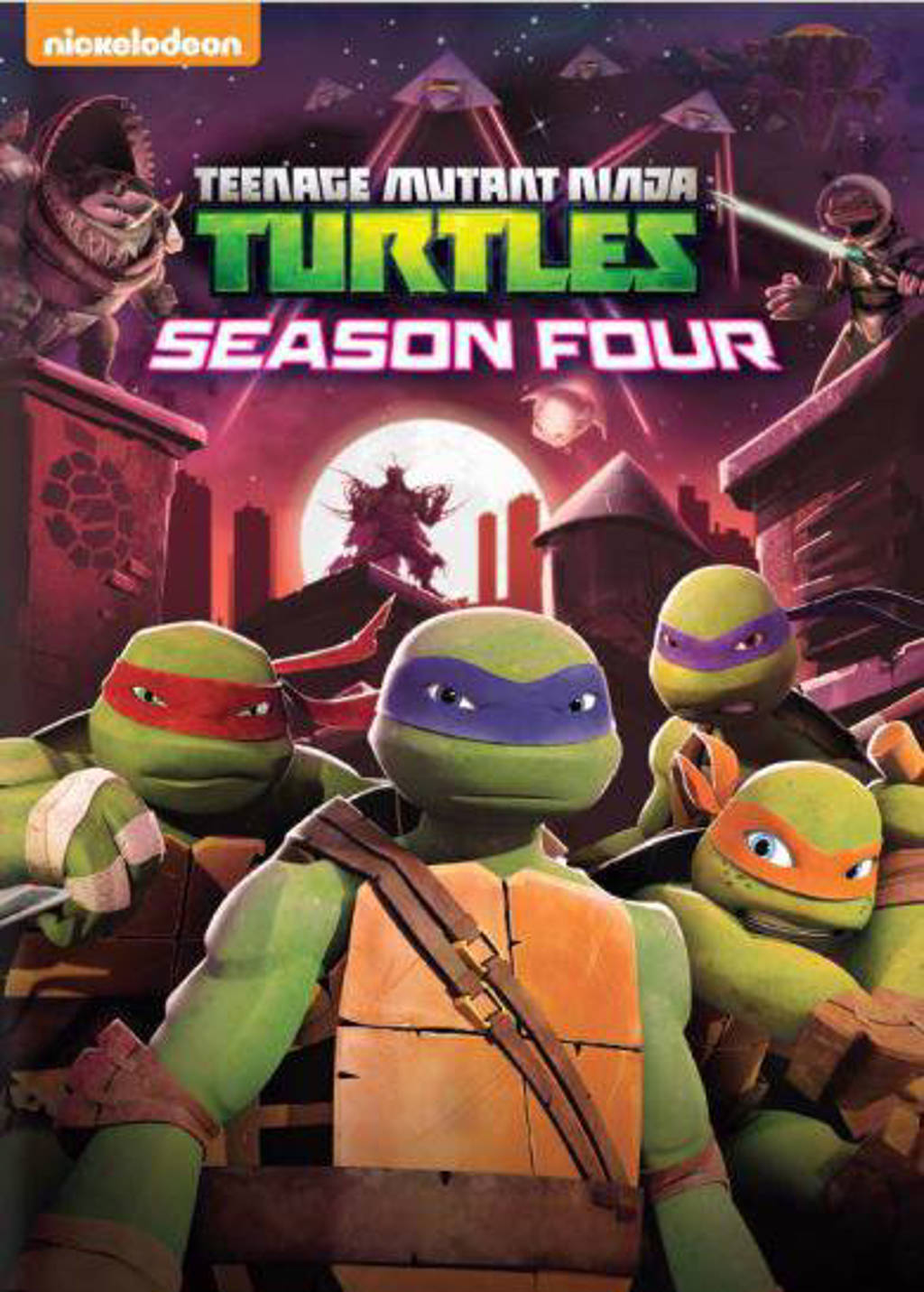 Teenage Mutant Ninja Turtles Seizoen 4 Dvd Wehkamp